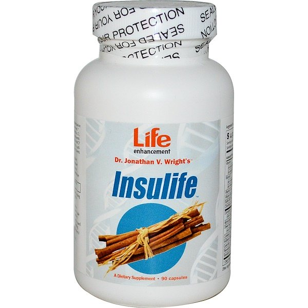 Life Enhancement, InsuLife, 90 Capsules