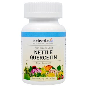Eclectic Institute, Nettle Quercetin, 350 mg, 90 Veggie Caps
