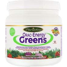 Load image into Gallery viewer, Paradise Herbs ORAC-Energy Protein & Greens 364 Grams