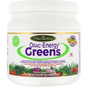Paradise Herbs ORAC-Energy Protein & Greens 364 Grams
