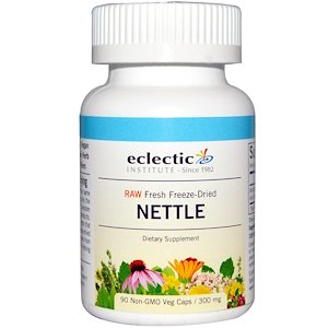 Eclectic Institute, Nettle, 300 mg, 90 Veggie Caps
