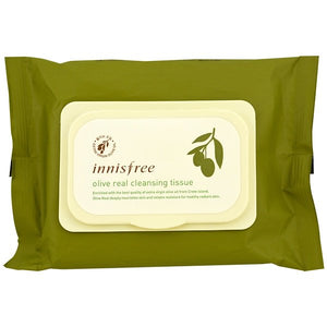 Innisfree, Olive Real Cleansing Tissue, 30 Sheets, (150 g)