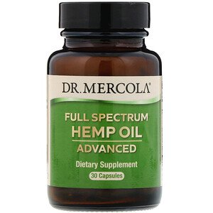 Dr. Mercola, Full Spectrum Hemp Oil, Advanced, 30 Capsules