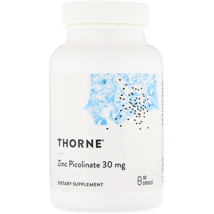 Thorne Research, Zinc Picolinate, 30 mg , 180 Capsules