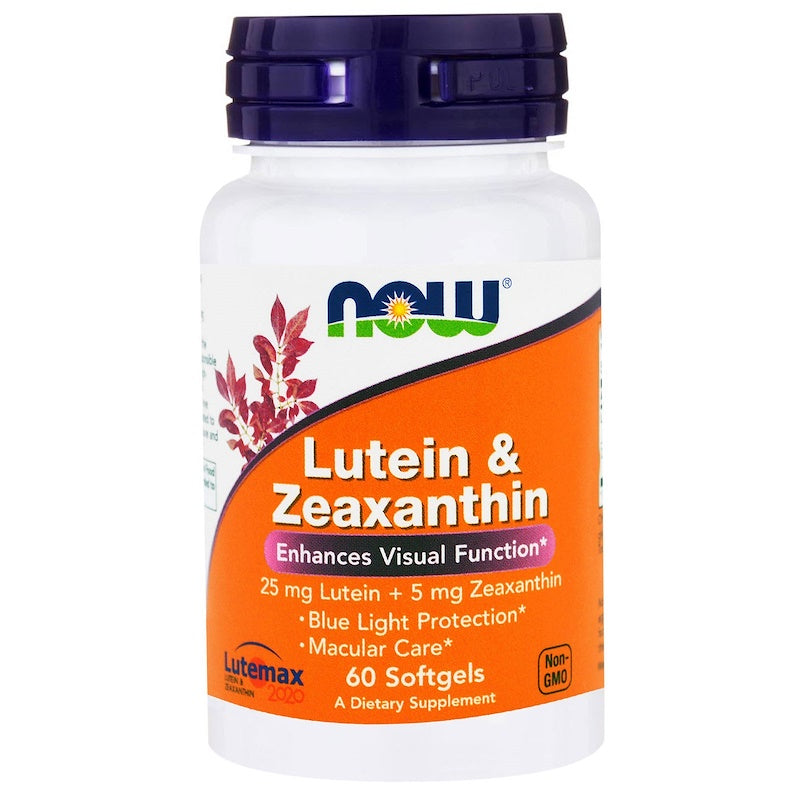 Now Foods, Lutein & Zeaxanthin, 60 Softgels