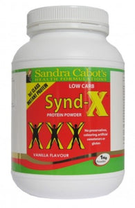 Cabot Health Synd-X Protein Powder Vanilla 1 Kg - Protein Supplement