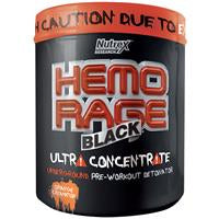 Nutrex, Hemo Rage, Black Ultra Concentrate, Orange, 265 g