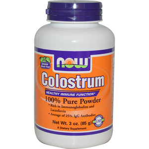 Now Foods, Colostrum, 100% Pure Powder - Dietary Supplement