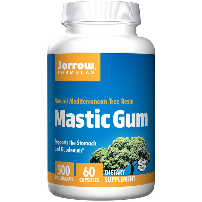 Jarrow Formulas Mastic Gum NATURAL Mediterranean Tree Resin 500 mg 60 Capsules