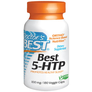 Doctor's Best Best 5-HTP 100 mg 180 Vcaps - Dietary Supplement