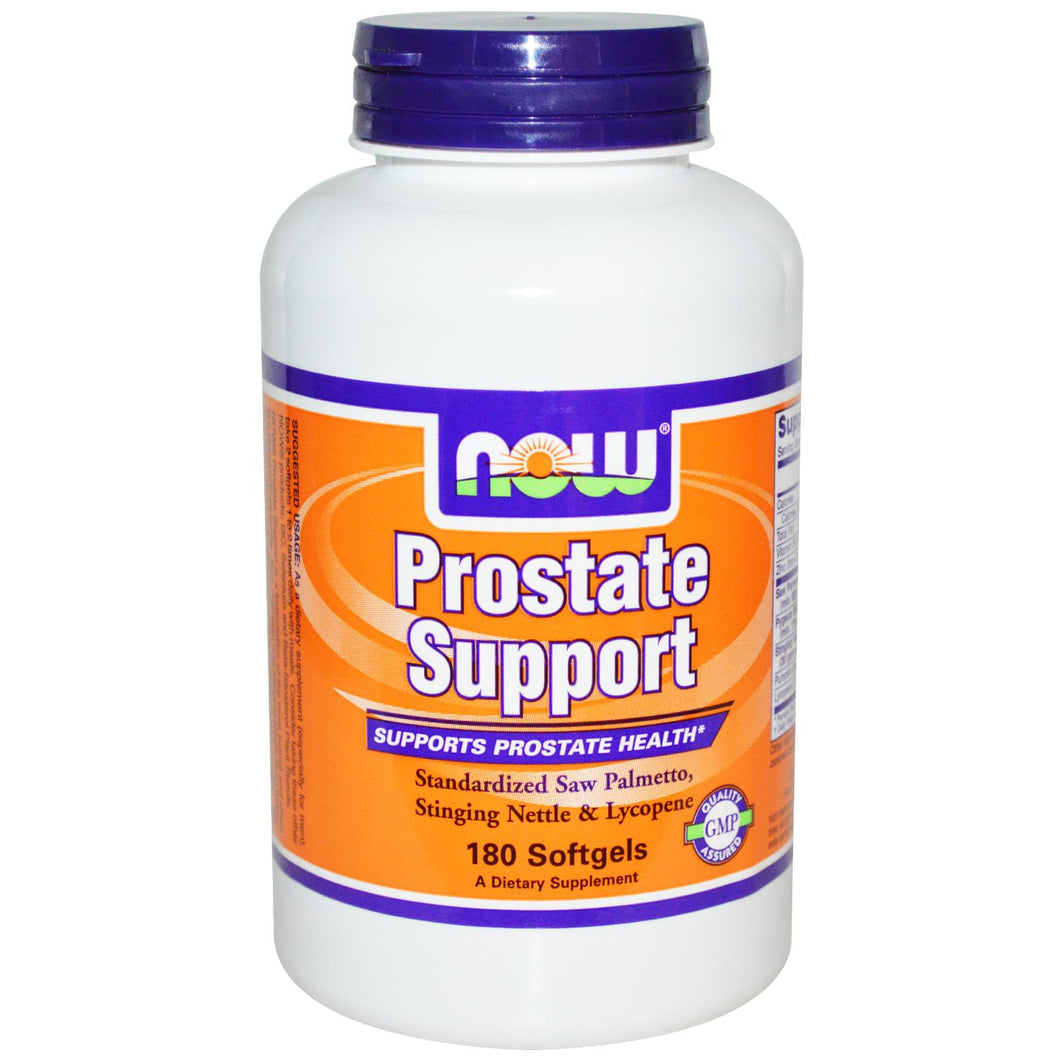 Now Foods, Prostate Support, 180 Softgels - Dietary Supplement