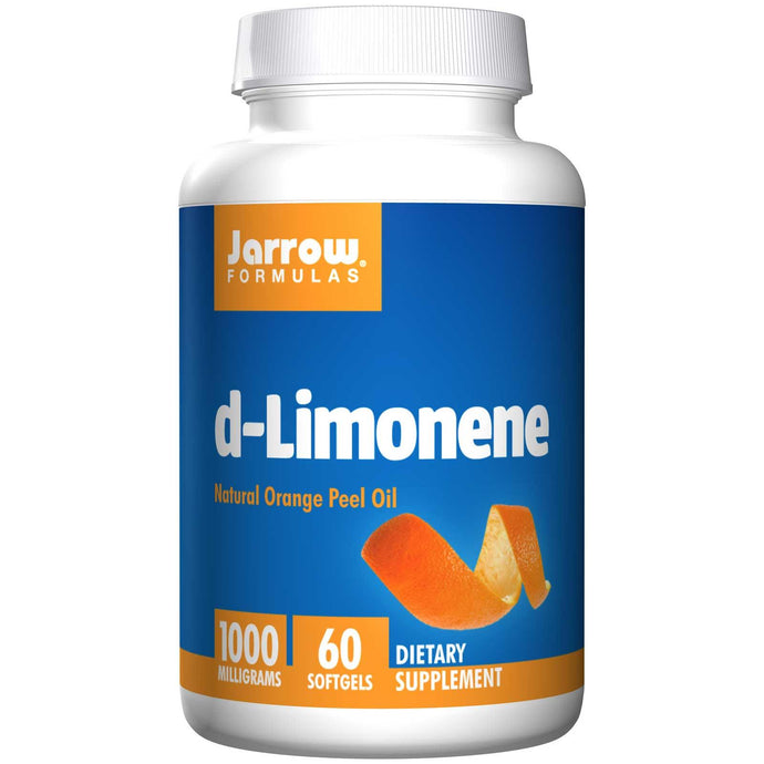 Jarrow Formulas D-Limonene 1000 mg 60 Softgels - Dietary Supplement