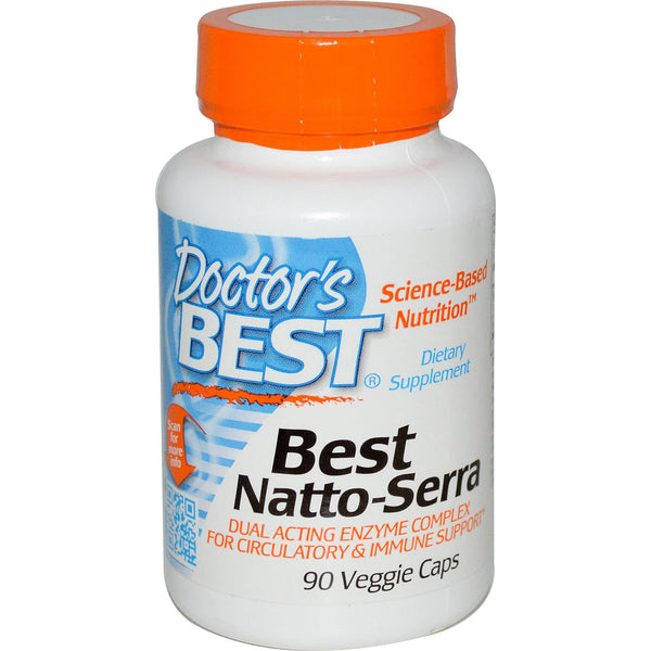 Doctor's Best Natto-Serra 90 VCaps - Dietary Supplement