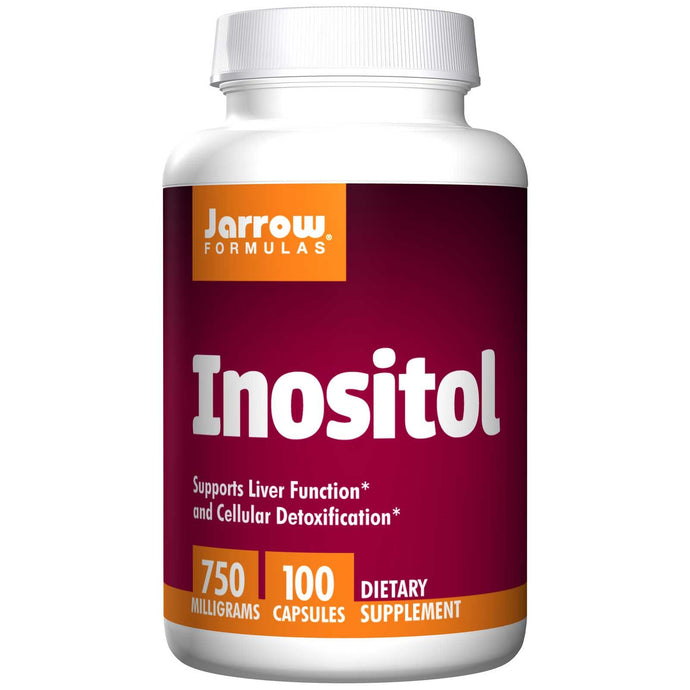 Jarrow Formulas Inositol 750 mg 100 Capsules - Dietary Supplement