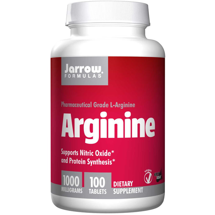 Jarrow Formulas Arginine 1000 mg 100 Tablets - Dietary Supplement