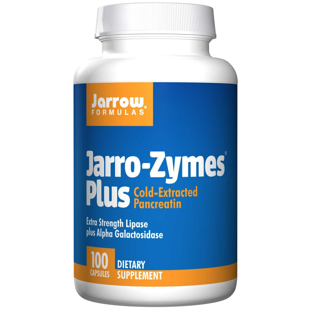 Jarrow Formulas, Jarro - Zymes Plus, 100 Capsules - Dietary Supplement