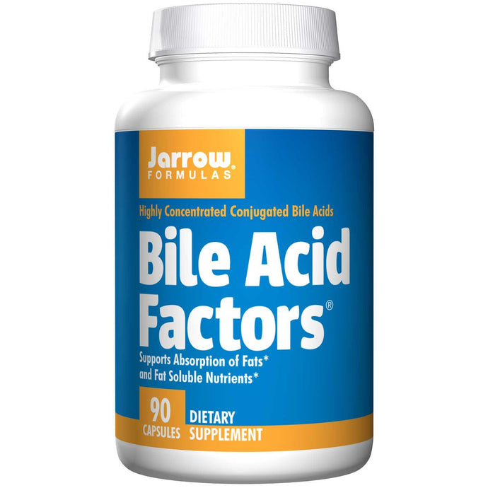 Jarrow Formulas Bile Acid Factors 90 Capsules - Dietary Supplement