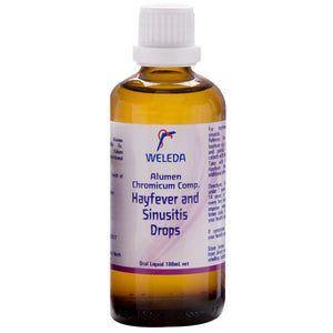 Weleda Hayfever & Sinusitis Drops, 100 ml - Health Supplement