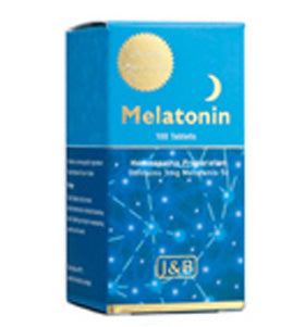 Johnson & Barana Melatonin 5 X (3 Mg) 100 Tablets - Health Supplement
