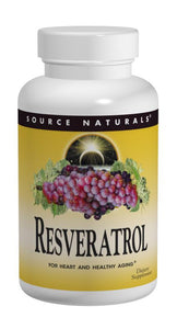 Source Naturals, Resveratrol 200, 200 mg, 60 Tablets
