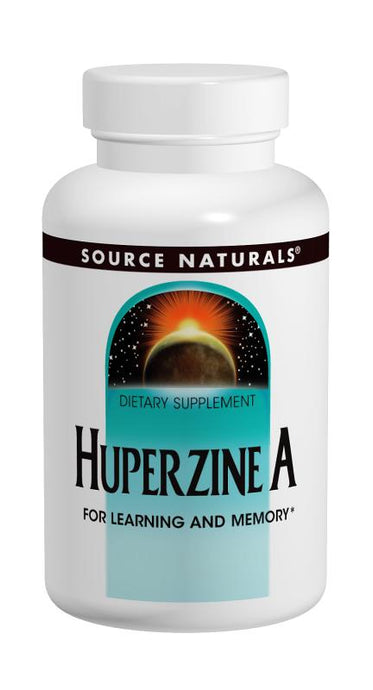 Source Naturals, Huperzine A, 100 mcg, 120 Tablets