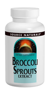 Source Naturals Broccoli Sprouts Extract 60 Tablets