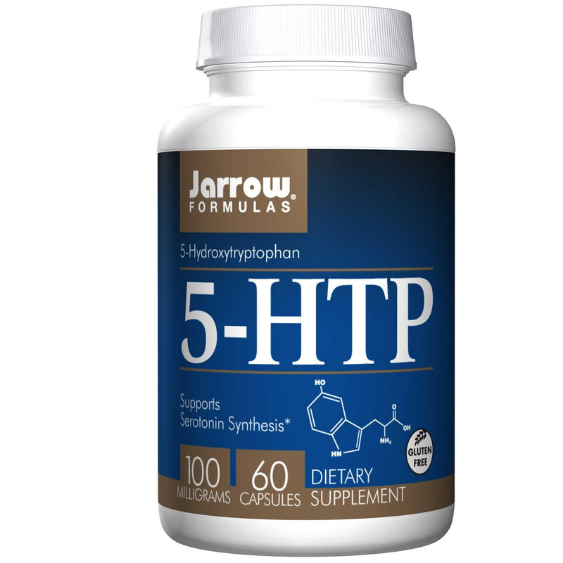 Jarrow Formulas 5-HTP 100 mg 60 Capsules - Dietary Supplement