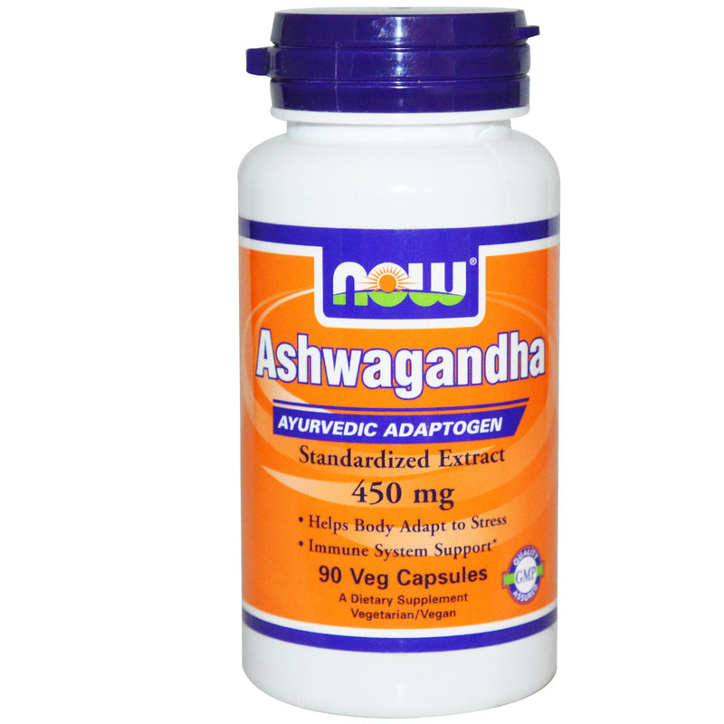 Now Foods, Ashwagandha, 450 mg, 90 VCaps
