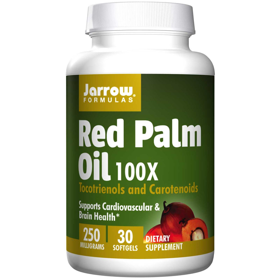 Jarrow Formulas, Red Palm Oil, 100X, 250 mg, 30 Softgels