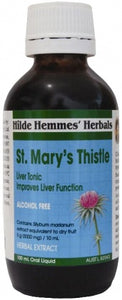 Hilde Hemmes Herbal's, St. Mary's Thistle 100 ml, Liquid Extract