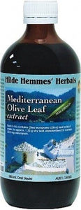 Hilde Hemmes Herbal's, Mediterranean Olive Leaf, 200 ml