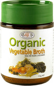 Hilde Hemmes Herbal's, Organics, Vegetable Broth, 110 g