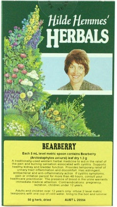 Hilde Hemmes Herbal's, Bearberry (Uva Ursi) 50 g, Loose Tea