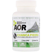 Load image into Gallery viewer, Advanced Orthomolecular Research AOR, Chanca Piedra, 90 Vegan Capsules