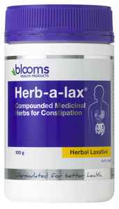 Blooms Health Products, Herbalax Powder, 100 g - Health supplement