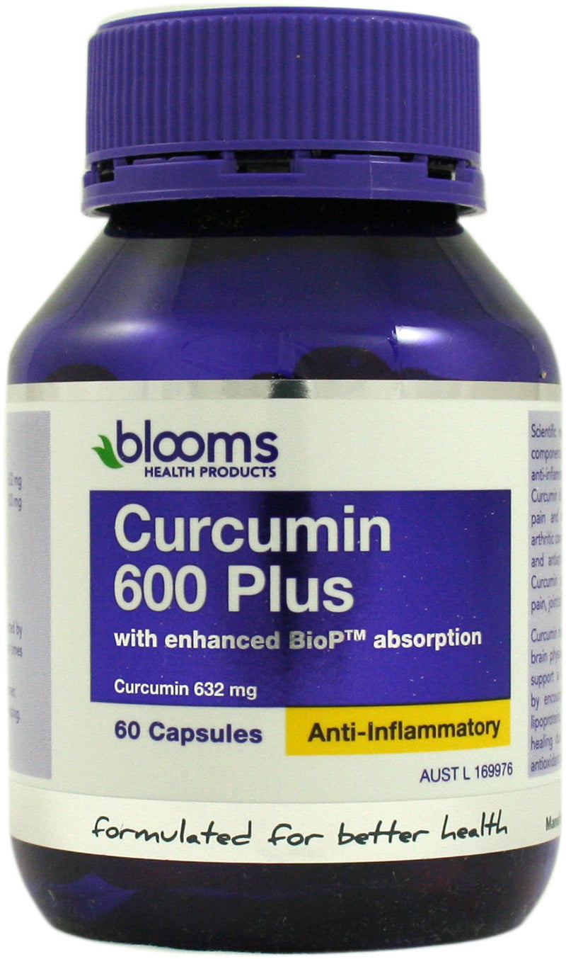 Blooms Health Products, Curcumin 600 Plus, 60 Capsules