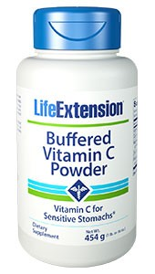 Life Extension, Buffered Vitamin C, Powder, 454 g - Dietary Supplement