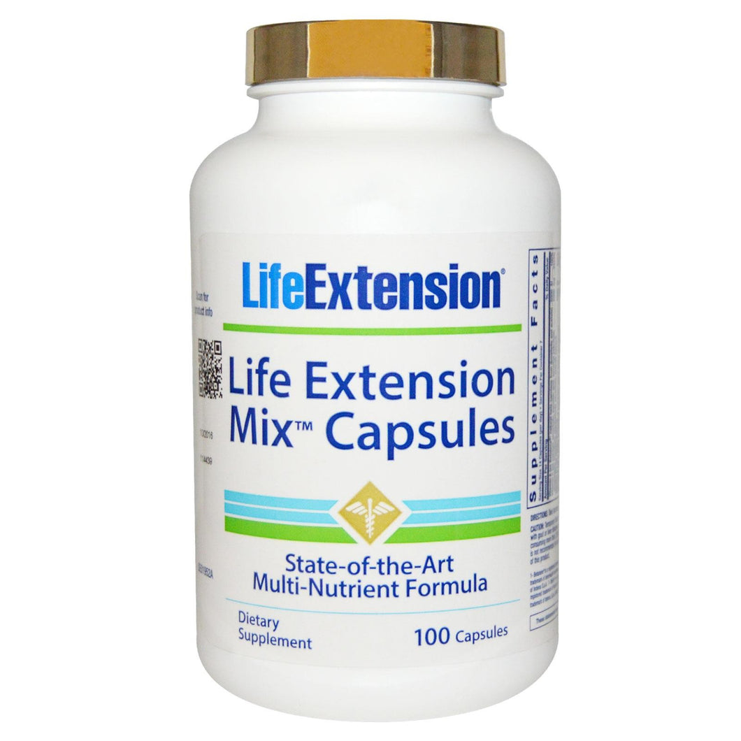 Life Extension, Mix Capsules, 100 Capsules - Dietary Supplement
