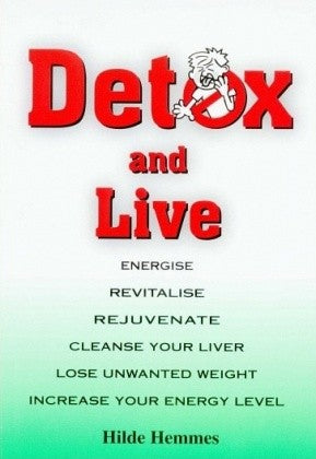Hilde Hemmes Herbal's, Book, Detox & Live - Herbal Supplement
