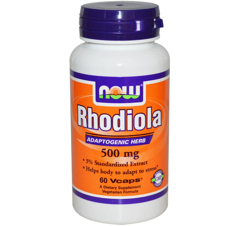 Now Foods Rhodiola 500 mg 60 VCaps - Dietary Supplement