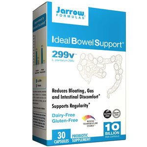 Jarrow Formulas, Ideal Bowel Support, 299v, 30 capsules
