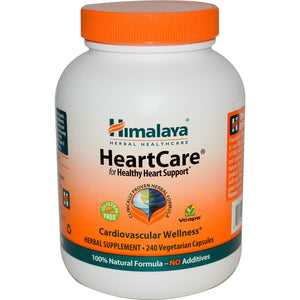 Himalaya Herbal Healthcare, HeartCare, 240 VCaps - Herbal Supplement