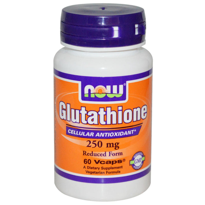 Now Foods Glutathione Reduced Form 250mg 60 Vcaps - Dietary Supplement