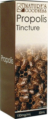 Nature's Goodness, Propolis Tincture, 50 ml, 150 mg/ml