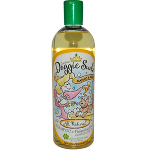 Austin Rose Inc., Caroline's Doggie Sudz Shampoo for Pampering Pooch, Mango & Neem, 472 ml, 16 fl oz