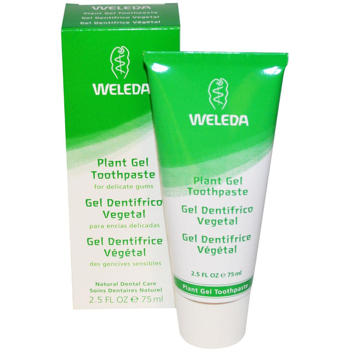 Weleda Plant Gel Toothpaste, 75ml, 2.5 fl oz - Natural Supplement