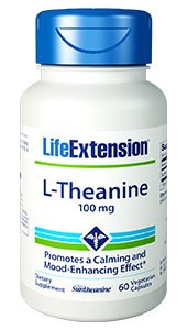 Life Extension, L-Theanine, 100 mg, 60 VCaps - Dietary Supplement