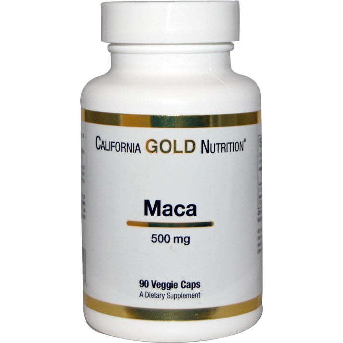 California Gold Nutrition, Organic Macca, 500mg 90 veggie caps