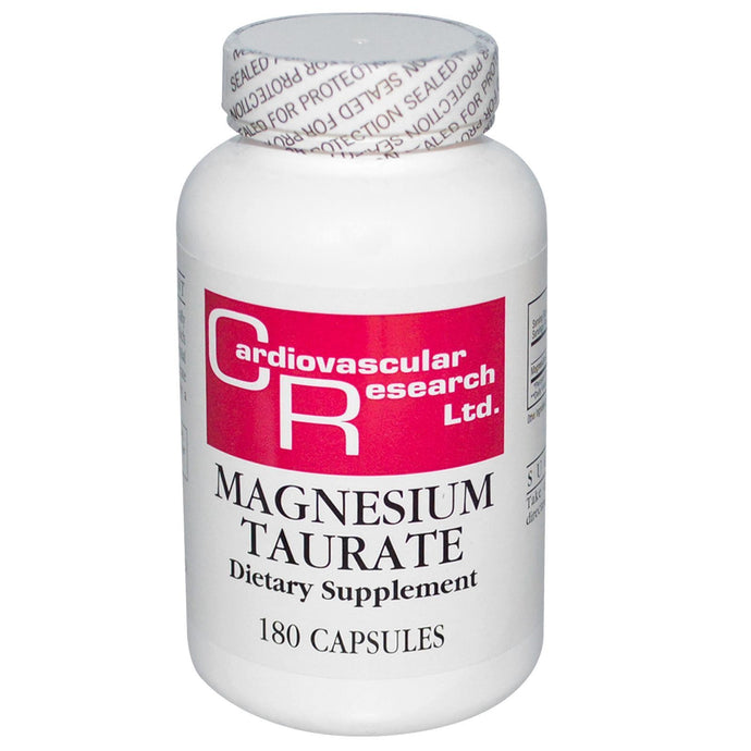 Cardiovascular Research Ltd Magnesium Taurate 180 Capsules