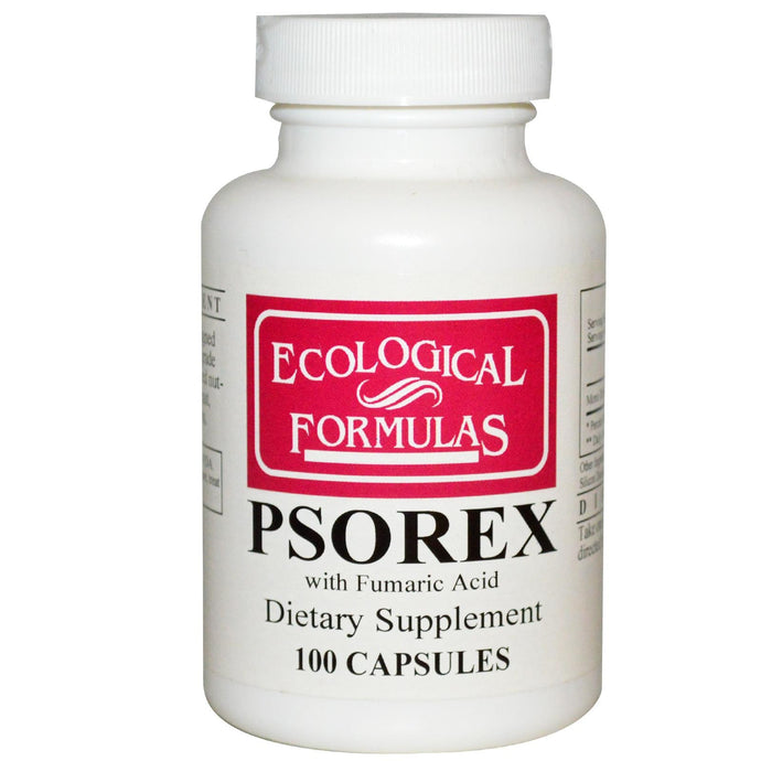 Cardiovascular Research.,Psorex, 100 Capsules - Dietary Supplement